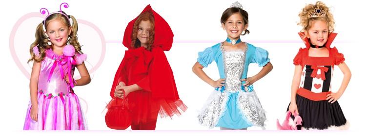 Vendita vestiti di Carnevale bambino e bambina